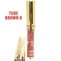 Блеск для губ Metal Matte Lipstick Kylie Birthday Edition Ture Brown K