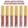 Блеск для губ Metal Matte Lipstick Kylie Birthday Edition 22