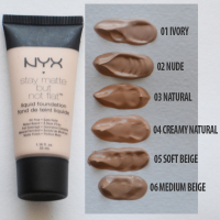 Тональный крем NYX Stay Matte But Not Flat 06 Medium Beige