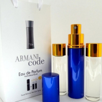 Armani Code edt 3x15ml - Trio Bag