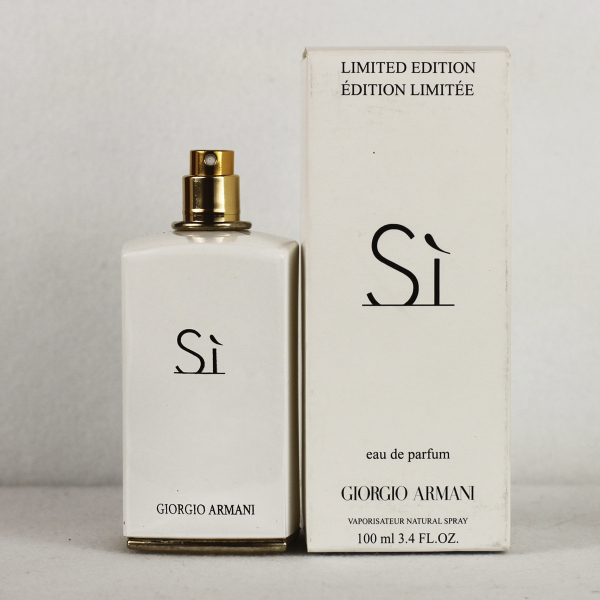 Armani Si White Limited Edition Edp 100ml Tester