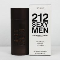 Carolina Herrera 212 Sexy Men edt 100ml TESTER Акция 1шт