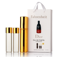 Christian Dior Fahrenheit edt 3x15ml - Trio Bag