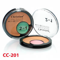 Консилер 2 в 1 Christian Concealer High-Definition CC-201 1
