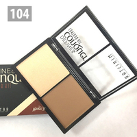 Палитра для скульптурирования лица MINISTAR Define and Conquer contour kit - 104
