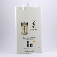 Yves Saint Laurent L`homme edt 3x15ml - Trio Bag